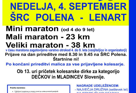 Kolesarski maraton in dirka Mr.Bo 2016-Nedelja 04.09.2016