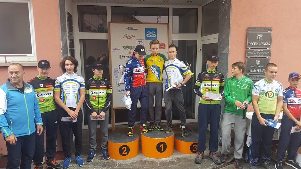 Trojne stopničke na zadnji dirki in skupno 3. mesto U15 v Pokalu Slovenije!